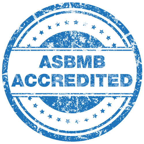 ASBMB Accredited Stamp